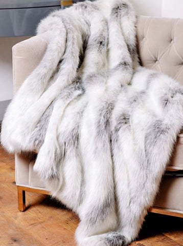 Icelandic Fox Limited Edition Throw - Fabulous Furs