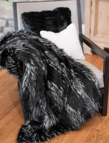 Midnight Fox Limited Edition Throw - Fabulous Furs