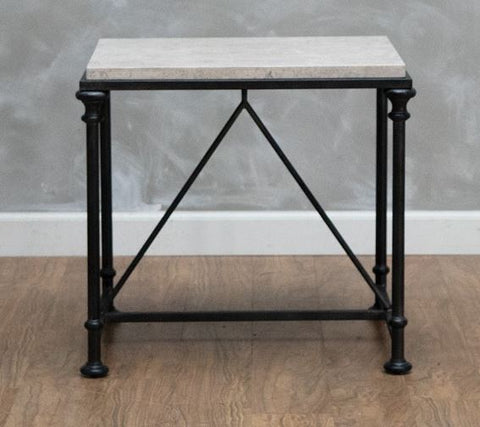 Galesbury Metal End Table - Bernhardt Furniture