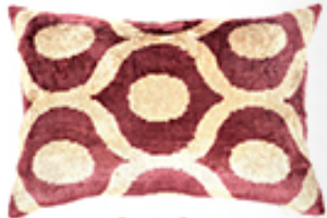 Gloria Grape Pillow - Found Object