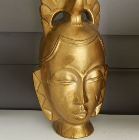 Golden Masks Assorted 4 Styles - Tozai Home