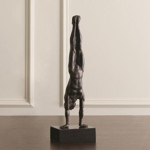 Hand Stand, Bronze - Global Views