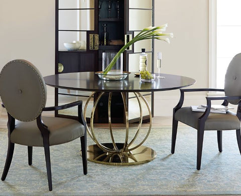Jet Set Round Dining Table - Bernhardt Furniture