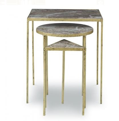 Julio Nesting Tables - Mr. Brown London