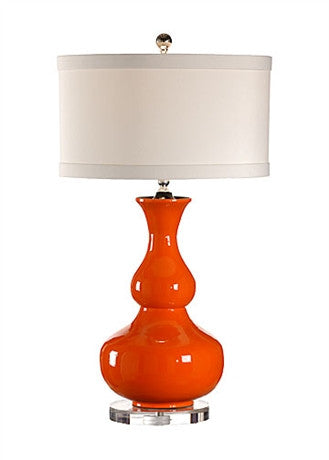 Lacquer Vase Lamp - Wildwood Lamps & Accents