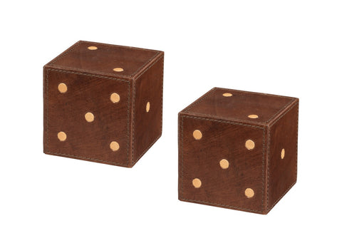 Leather Dice Small - Jamie Young