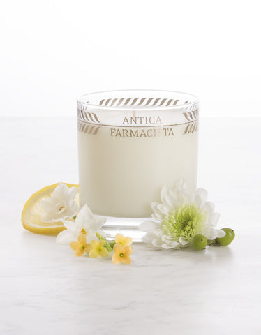 Lemon, Verbena & Cedar Candle 9 oz - Antica Farmacista