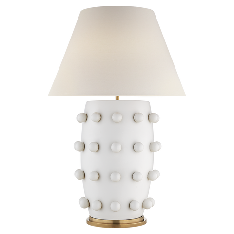 Linden White Table Lamp - Visual Comfort & Co.
