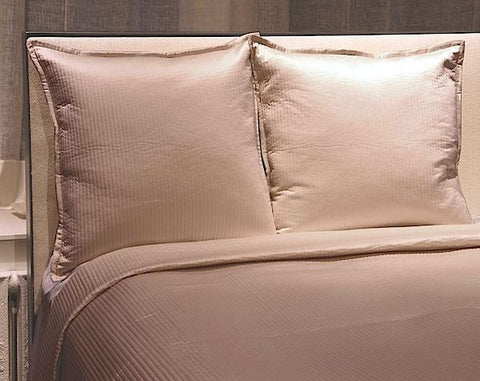 Linea Queen Coverlet Set, Taupe - Ann Gish