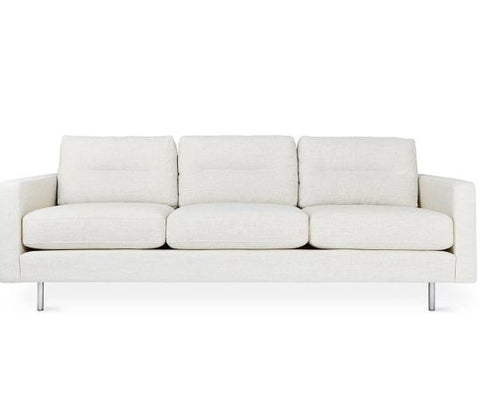 Logan Sofa with Stainless Steel Legs by Gus Modern