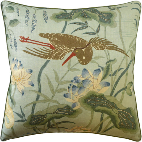 Lotus Garden Pillow - Ryan Studio