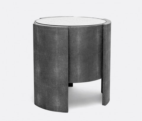 Harriet Side Table, Cool Grey - Made Goods