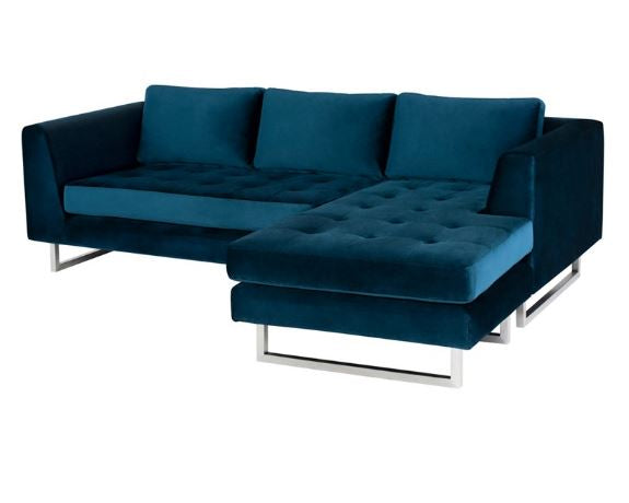 Surprising Matthew Sectional Sofa Nuevo Living Luxe Home Philadelphia Ibusinesslaw Wood Chair Design Ideas Ibusinesslaworg