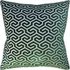 Ming Fret Velvet Pillow - Ryan Studio