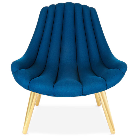 Brigitte Navy Lounge Chair - Jonathan Adler