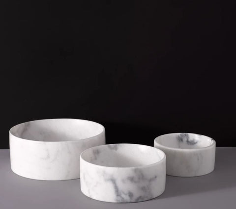 Marble Water Dog Bowl - Mr. Dog