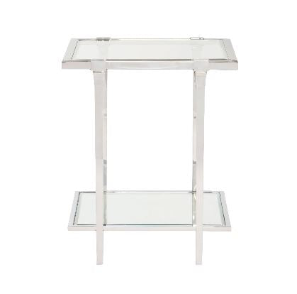 Napier Metal End Table - Bernhardt Furniture