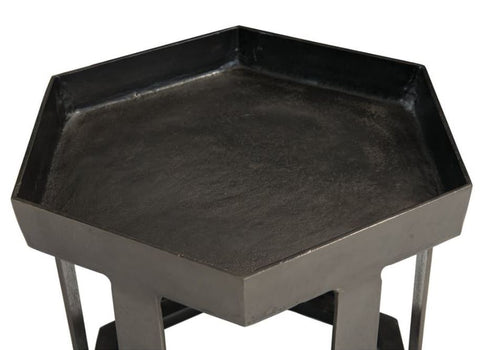 Benson Hexagon Chairside Table - Bernhardt Furniture