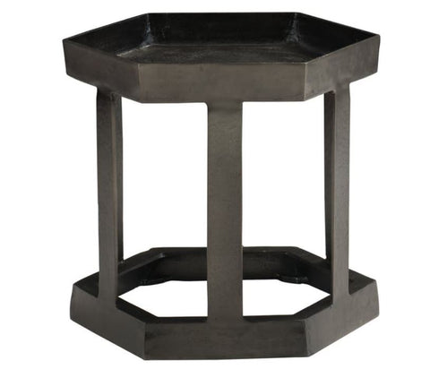 Benson Hexagon Chairside Table - Bernhardt