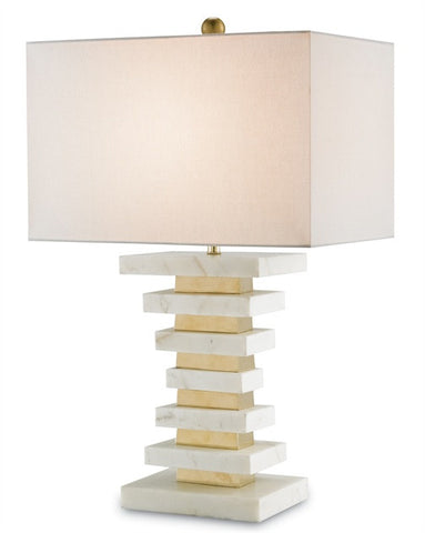 Octave Table Lamp - Currey & Company