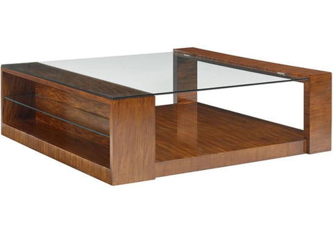 Ollie Storage Cocktail Table - Precedent Furniture