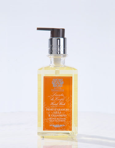 Orange Blossom, Lilac and Jasmine Hand Wash - Antica Farmacista