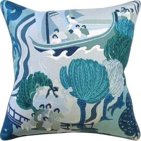 Pearl River Pillow 22x22 - Ryan Studio