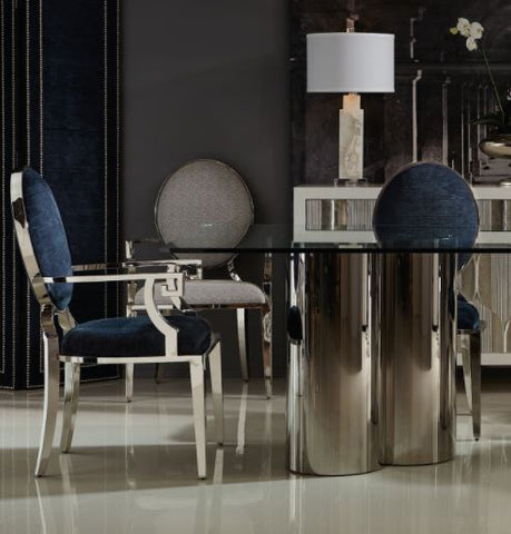 Percival Metal Side Chair - Bernhardt Interiors