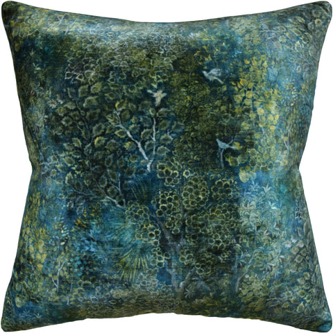 Persian Garden Velvet Pillow - Ryan Studio