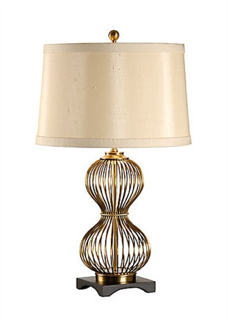 Pinched Cage Lamp - Wildwood Lamps & Accents
