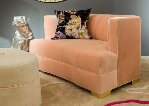 Alessandra Love Seat - James by Jimmy Delaurentis