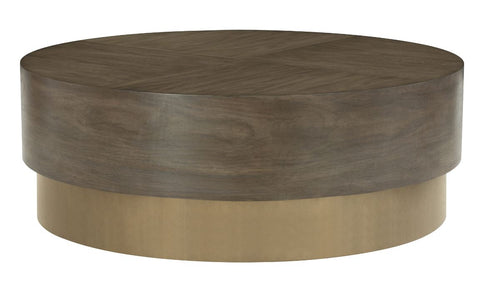 Profile Round Cocktail Table - Bernhardt Furniture
