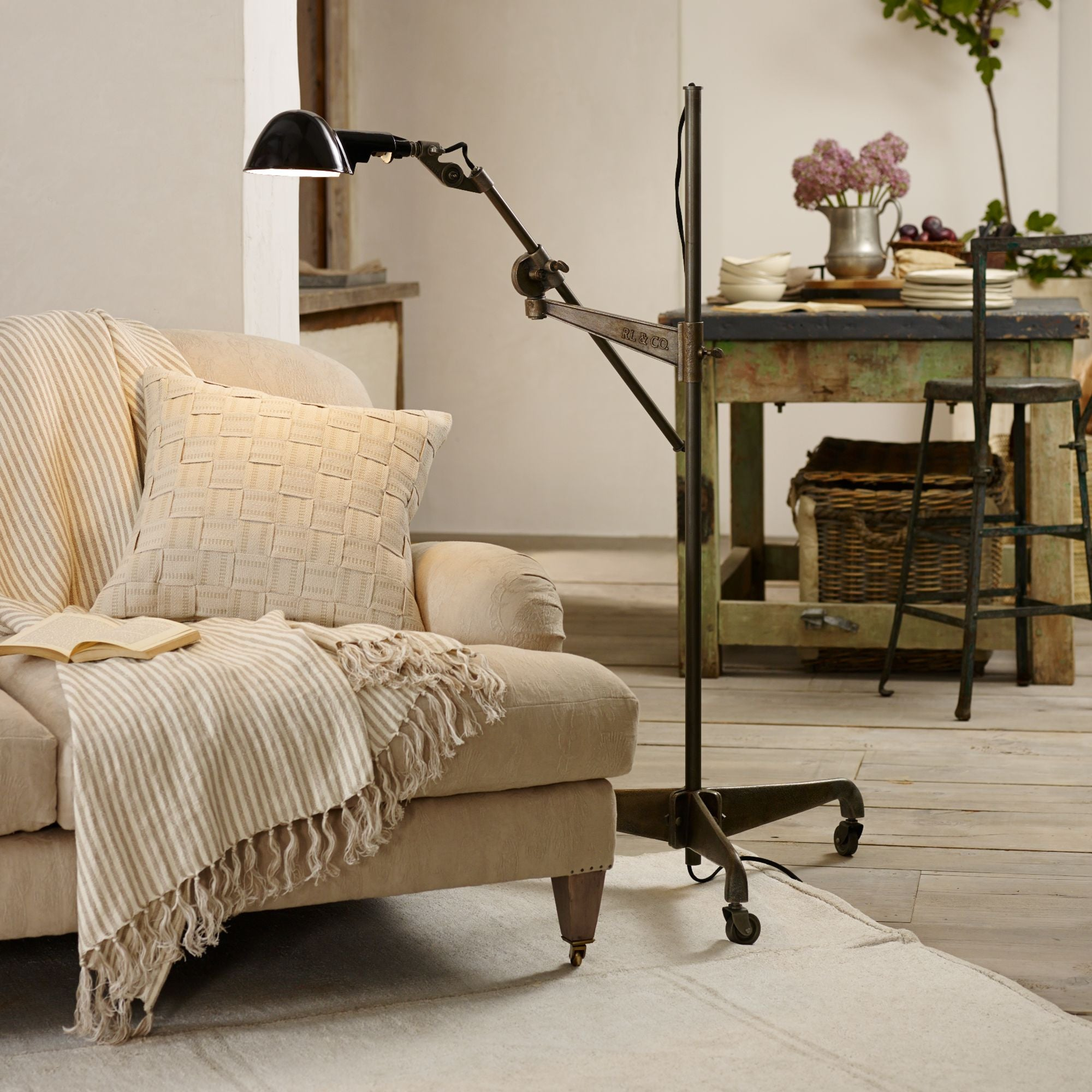 Freeman Floor Lamp Ralph Lauren Home