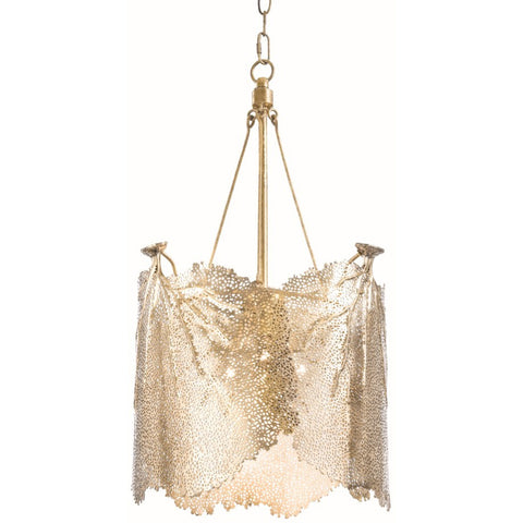 Large Sea Fan Chandelier, Brass - Regina-Andrew Design