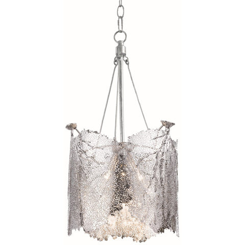 Large Sea Fan Chandelier, Nickel - Regina-Andrew Design