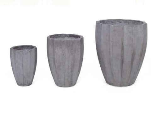 Seychelles Planters-Set of 3 - Mr. Brown London