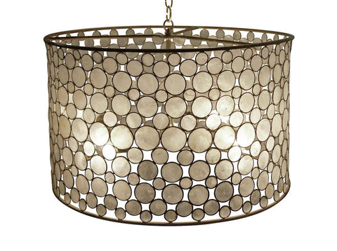 Serena Drum Chandelier - Oly Studio