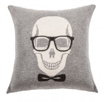 Skull Bow Pillow - Rani Arabella