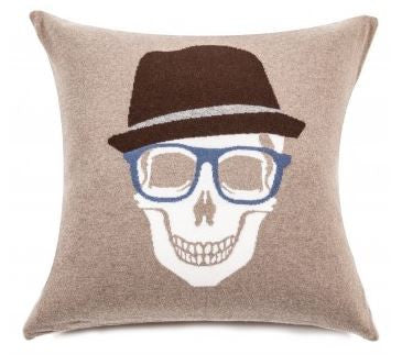 Skull Hat Pillow - Rani Arabella