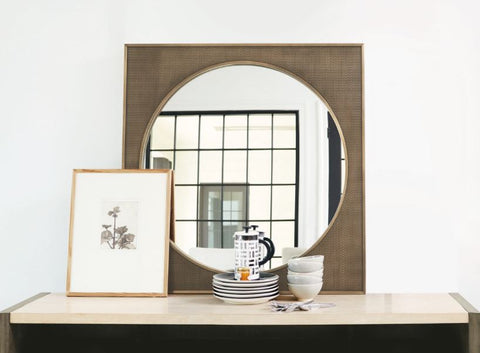 Profile Square Metal Mirror - Bernhardt Furniture
