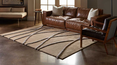 Sticks Area Rug - Creative Accents