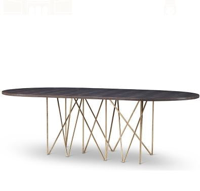 Stromboli Dining Table Base - Mr. Brown London