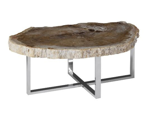 Petrified Wood Coffee Table - Phillips Collection