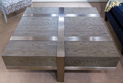 Leigh Cocktail Table - Bernhardt Interiors