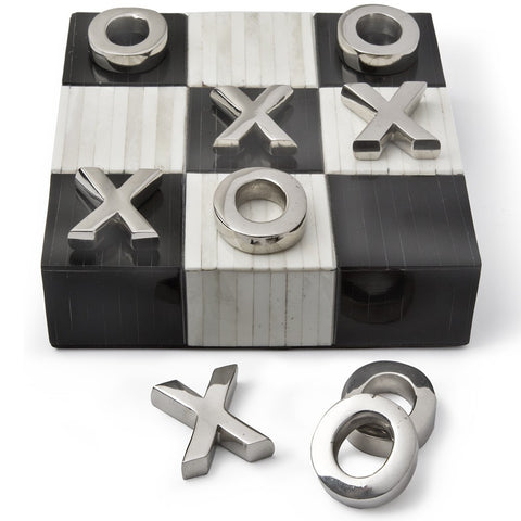 Tic Tac Toe Flat with Nickel - Regina-Andrew Design