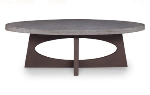 Tilly Oval Coffee Table - Mr. Brown London