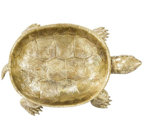 Gold Turtle Tray - Howard Elliott