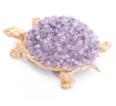 Turtle In Amethyst - John Richard