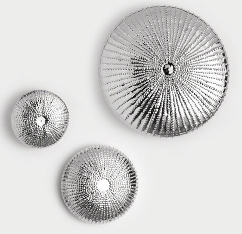 Sea Urchin Wall Sculpture, Nickel - Global Views