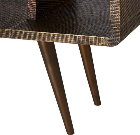 Verra Console, Antique Brass - Bungalow 5